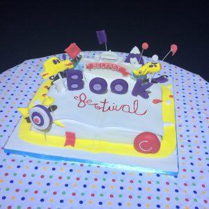 Belfast Book Festival Cake
