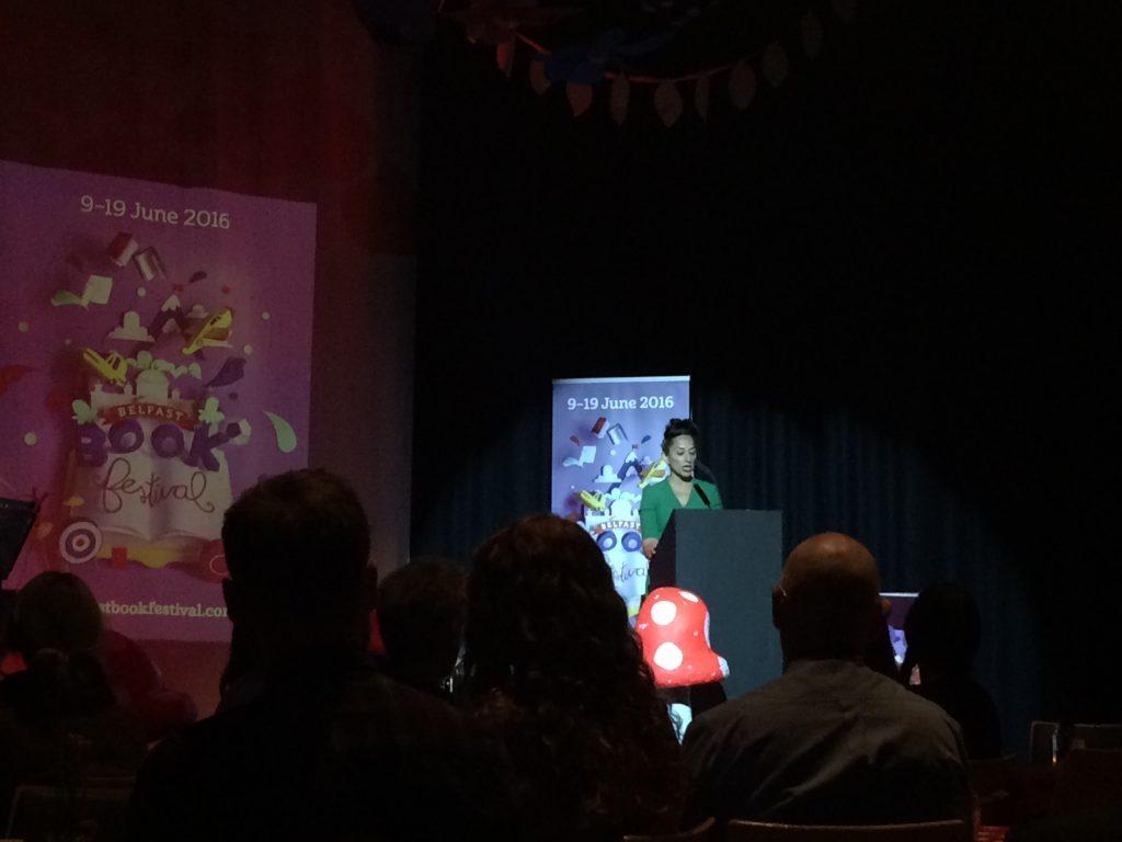 Belfast Book Festival Speaker