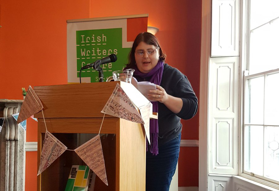Reading at the Irish Writers Centre